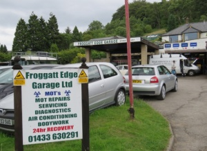 Froggatt Edge Garage